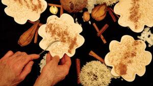 Milchreis-Pudding aus Kokosmilch