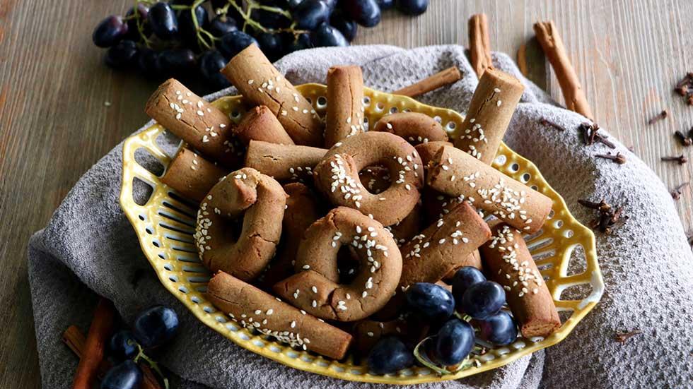 Kekse aus Trauben-Melasse