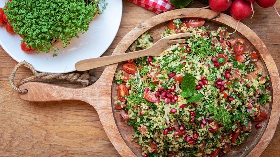 Taboulé-Salat mit Bulgur