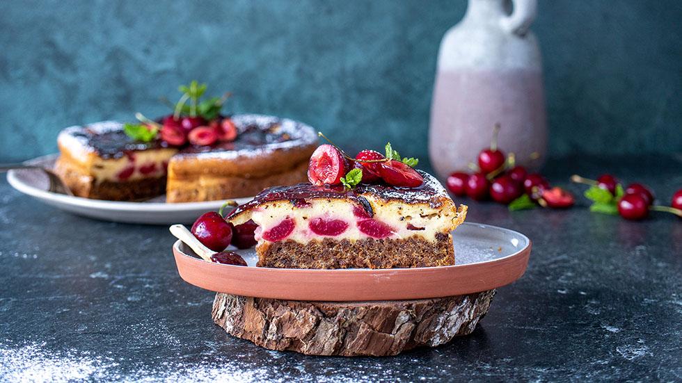 kirschen cheesecake